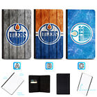 Edmonton Oilers Passport Holder Leather Cover Cards ID Travel Wallet $4.99 USD on eBay