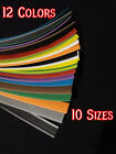 Heat shrink tubing 12 colors to choose from 3/64