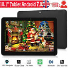 "10.1"" Inch Tablet Hd 64gb Android 7.0 Gps Google Octa-core Wifi Dual Camera Uk"