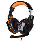 KITION EATCH Gaming Headset With LED Mic Stereo Earphones for PC Laptop PS4 Xbox
