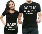 Pregnancy Announcement Shirts Baby Loading Dad To Be Maternity Couple Shirts