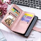 iPHONE XS MAX XR X 7 8 + Shockproof Magnetic Flip Card Wallet Leather Case Cover