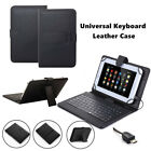 """US For 9.7-10.1"""" inch Tablet PU Leather Stand Case Cover With USB Wired Keyboard"""