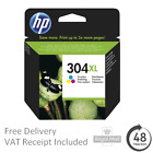 Genuine HP 304 - 304XL Black & Colour Ink Cartridges for HP ENVY 5030