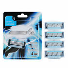 4-Layer Men Razor Shaving Head Shaver Blades Suits Health Beauty Cleaning Tools