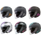 Gmax OF-77 Open Face Riding Motorcycle Street Helmet