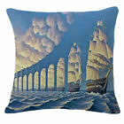 Cotton Linen Construction oil painting Throw Pillow Case Cushion Cover Home Deco