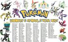 Pick any Shiny Legendary  Mythical Event Pokemon 3DS Home Switch Untouched