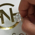 Cubic Zirconia Sterling Silver Plated Womens Engagement Wedding Jewelry Ring Au