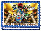 BEYBLADE Edible Cake topper image party decoration