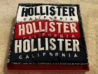 Hollister 3-Pack Icon Must-Have Crewneck NAVY - RED - WHITE T-Shirts BRAND NEW