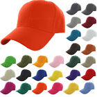 Plain Fitted Golf Baseball Cap Curved Visor  Solid Color Convenient Hat NG2