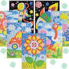 12 Styles Can Be Choose 3D Mosaics Puzzle Arts Craft for Kids Educational Toys