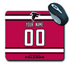 NFL Atlanta Falcons Personalized Name/Number Mouse Pad 152514 $12.99 USD on eBay