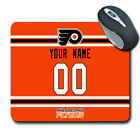 NHL Philadelphia Flyers Personalized Name/Number Mouse Pad 160404 $12.99 USD on eBay