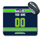 NFL Seattle Seahawks Personalized Name/Number Mouse Pad 153225 $14.99 USD on eBay
