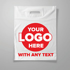PERSONALISED CARRIER BAGS  CUSTOM PRINTED PLASTIC BAGS with LOGO