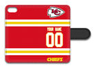 NFL Kansas City Chiefs Personalized Name/Number iPhone iPod Wallet Case151413 $17.99 USD on eBay