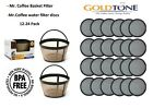 Mr. Coffee Water Filters Replacement Disk 10-12 Cup GoldTone Basket Filter