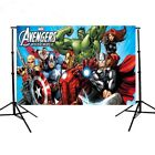 Avengers Birthday Party Vinyl Photography Backdrop Kids Photo Studio