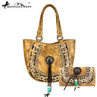 Montana West Concealed Carry Purse Handbag and Wallet  Boot Scroll  2CLRS
