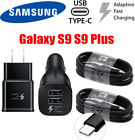Samsung Galaxy S6 S7 S8 S9 Note 5 8 Fast Charging OEM Car&Wall Charger+Cable Lot