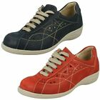 """Ladies Easy B Lace Up Flat Casual Shoes """"Hornsea"""""""