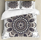 Ethnic Motifs Duvet Cover Set Twin Queen King Sizes with Pillow Shams image