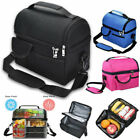 Insulated Lunch Bag Thermos Cooler For Women Men Kids Adults Tote Food Lunch Box