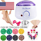 Wax Warmer Hair Removal Kit Melter Hot Warmer Wax Kit Lavender Beans 10 Sticks