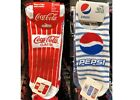 BRAND NEW PRIMARK OFFICIALLY LICENSED COCA COLA PEPSI SHOE LINERS 3 PACK £6.99  on eBay