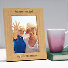 Personalised ANY TEXT Photo Frame Gifts for Mummy Nanny Mum Mom Mam Birthday