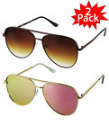 Aviator OVERSIZED Women Sunglasses Aviator Flat Top Square Shadz Glasses Key Hot