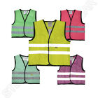 HI VIZ KIDS INFANTS BABY FLUORESCENT PRINTED OUTDOOR SAFETY VEST