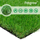 35MM Thick Synthetic Artificial Grass Turf, Realistic Fake Lawn Grass Pet Rug