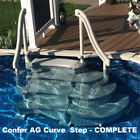 Confer Plastics Curve Above Ground Pool Step System