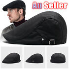 Men's Ivy Beret Golf Hats Gatsby Cap Flat Driver Cabbies Hat AU Newsboy Driving