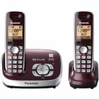 PANASONIC LANDLINE SET SYSTEM DECT 6.0 CORDLESS HOME PHONE ANSWERING MACHINE LOT