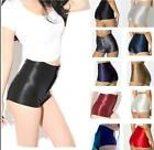 Disco slim Hot Shorts Woman Shorts Bottom button fly Solid color XS-XL L132