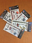 NFL Temporary Tattoo Sheet  Broncos, Browns, Colts, Saints, Steelers Made In USA $3.99 USD on eBay