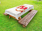 Alice in Wonderland Outdoor Picnic Tablecloth in 3 Sizes Washable Waterproof