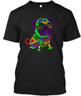 Funny Pop Art Pug Puppy Dog T-shirt Tee M-3XL US 100% cotton clothing trend 2019