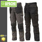 Apache Work Trousers - Knee-Pad & Holster Pockets - Cordura Triple Stitched