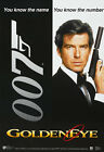 GoldenEye 007 Movie Art Silk Poster 12x18 24x36 $5.6 CAD on eBay