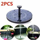 Solar Panel Powered Submersible Floating Fountain Garden Pool Water Pump 3 Type