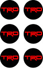 6x Trd Vinyl Decal Sticker Center Wheel Replacement