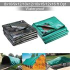 Heavy Duty Poly Tarp Camouflage Waterproof Canopy Outdoor Sun Shade Cover Tent