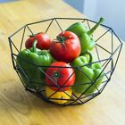 Modern Fruit Bowl Iron Wire Kitchen Basket Candy Storage Container Snack Plate