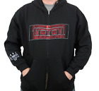TOOL (Red Face) Men's Zip-Up Hoodie