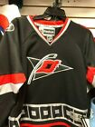 NHL Adidas Youth Carolina Hurricanes Hockey Black Jersey $74.99 USD on eBay